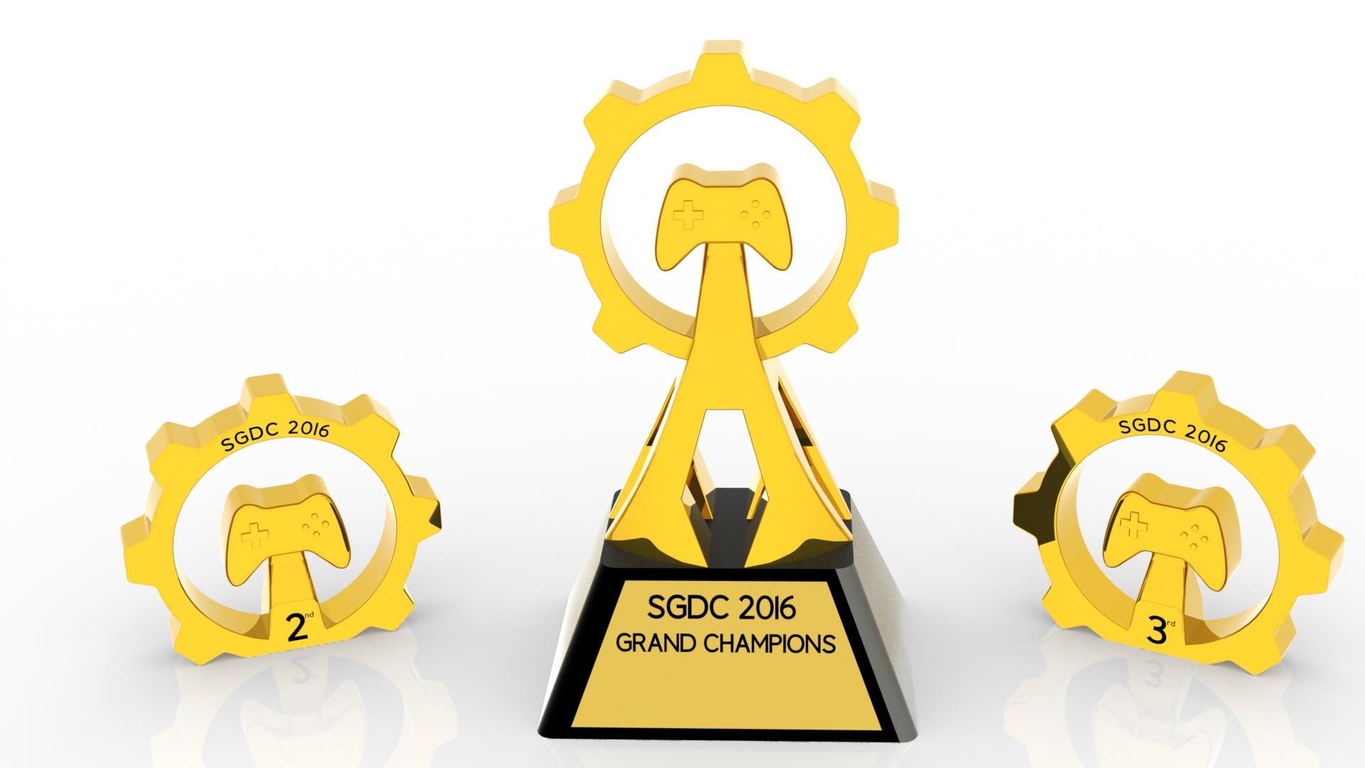 SGDC 2016 Custom Trophies – Fortin Discovery Lab